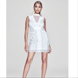 Boohoo Premium Alice Dress